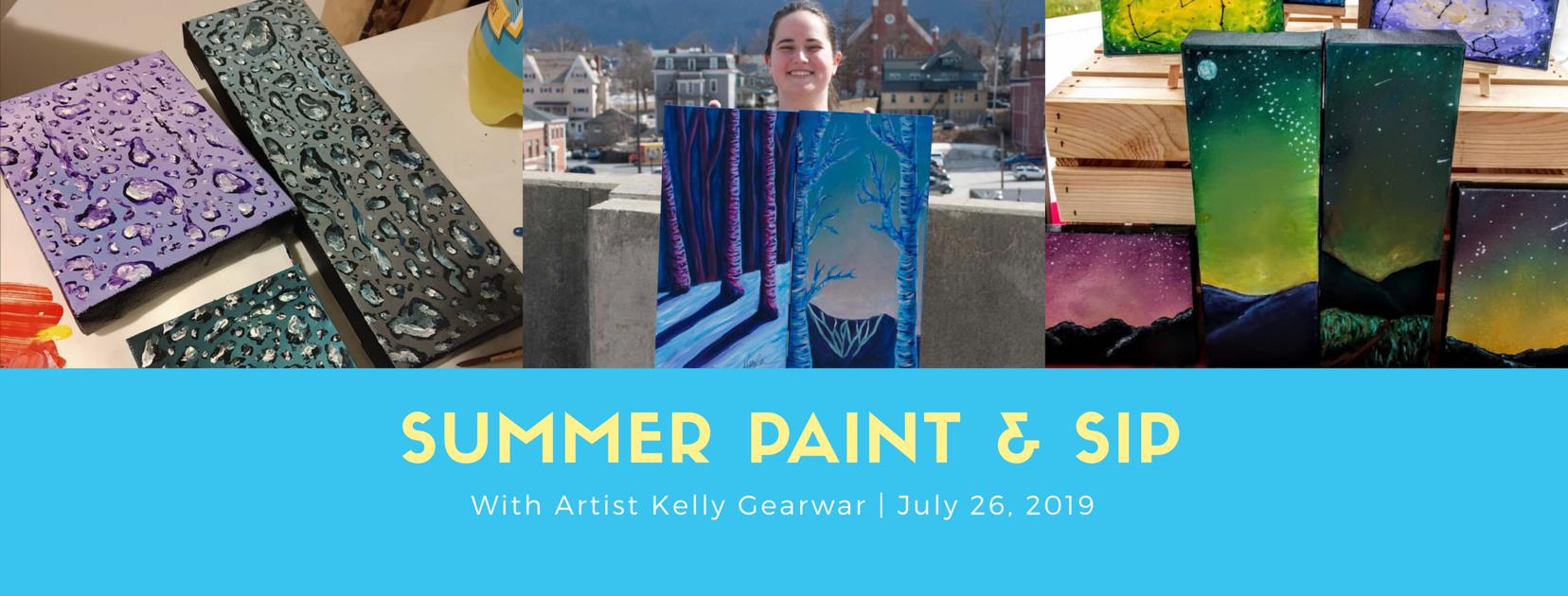 Summer paint sip